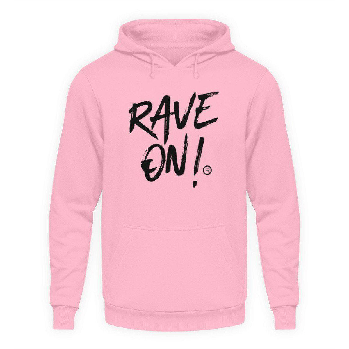 Rave On!® Light Collection - Unisex Hooded Sweater Hoodie Unisex Hoodie Baby Pink / L - Rave On!® the club & techno scene shop for cool young fashion streetwear style & fashion outfits + sexy festival 420 stuff