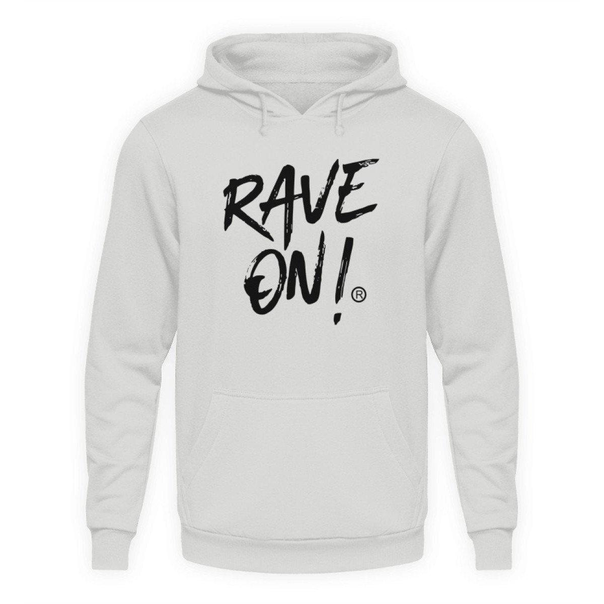 Rave On!® Light Collection - Unisex Hooded Sweater Hoodie Unisex Hoodie Sport Gray / L - Rave On!® the club & techno scene shop for cool young fashion streetwear style & fashion outfits + sexy festival 420 stuff