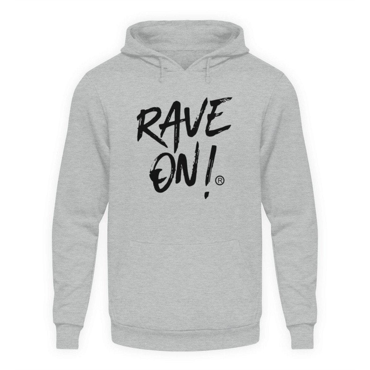 Rave On!® Light Collection - Unisex Hooded Sweater Hoodie Unisex Hoodie Sport gray Heather / L - Rave On!® the club & techno scene shop for cool young fashion streetwear style & fashion outfits + sexy festival 420 stuff