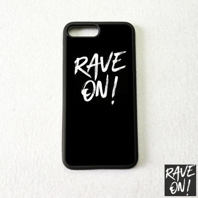 Rave On!® Phone case for Samsung Mobile Phone Case black siliconeB6148 / for s10 - Rave On!® the club & techno scene shop for cool young fashion streetwear style & fashion outfits + sexy festival 420 stuff