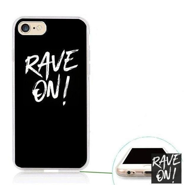 Rave On!® Phone case for Samsung Mobile Phone Case transparentB6148 / for s10 - Rave On!® the club & techno scene shop for cool young fashion streetwear style & fashion outfits + sexy festival 420 stuff