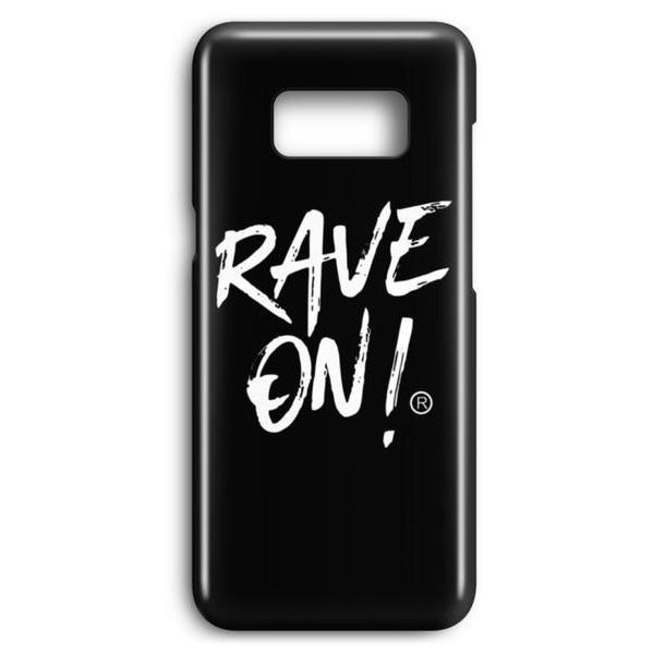 RAVE ON!® Samsung S8/S9 Cover Black Edition-Samsung Premium Case-Schwarz-Samsung S8-Rave-On! I www.rave-on.shop I Deine Rave & Techno Szene Shop I apparel, brand, case, Handy, handycover, Hülle, i heart raves, marke, on, On!®, phone case, phone cover, rave, rave apparel, rave clothes, rave clothing, rave fashion, rave gear, rave on, Rave On!®, rave shop, rave wear, raver, samsung case, samsung phone cover, techno, techno apparel, techno handyhülle, ® - Sexy Festival Streetwear , Clubwear & Raver Style