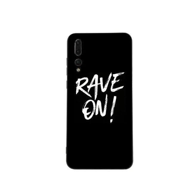 Rave On!® Phone case for Huawei Mobile Phone Case B6145 / for Huawei P20 pro - Rave On!® the club & techno scene shop for cool young fashion streetwear style & fashion outfits + sexy festival 420 stuff