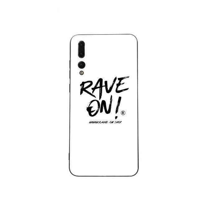 Rave On!® Phone case for Huawei Mobile Phone Case B6147 / for Huawei P20 - Rave On!® the club & techno scene shop for cool young fashion streetwear style & fashion outfits + sexy festival 420 stuff