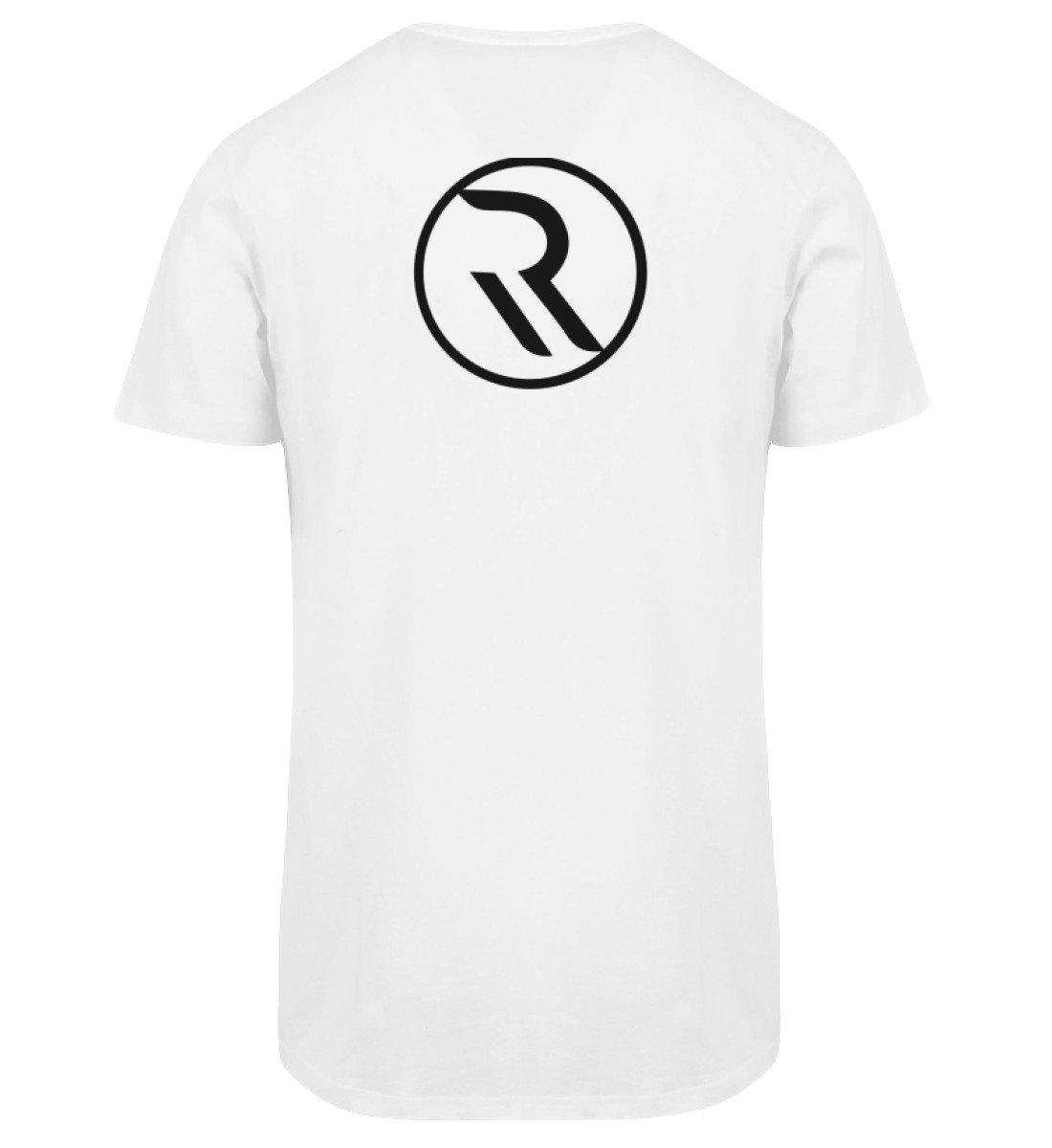 ROPEMAKER RAVE-ON!®️ WHITE LONG SHIRT - Herren Long Tee Men Long Tee White / S - Rave On!® der Club & Techno Szene Shop für Coole Junge Mode Streetwear Style & Fashion Outfits + Sexy Festival 420 Stuff