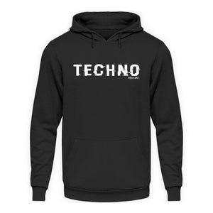 TECHNO shifted Rave On!® - Unisex Kapuzenpullover Hoodie-Unisex Hoodie-Rave-On!-Rave-On!