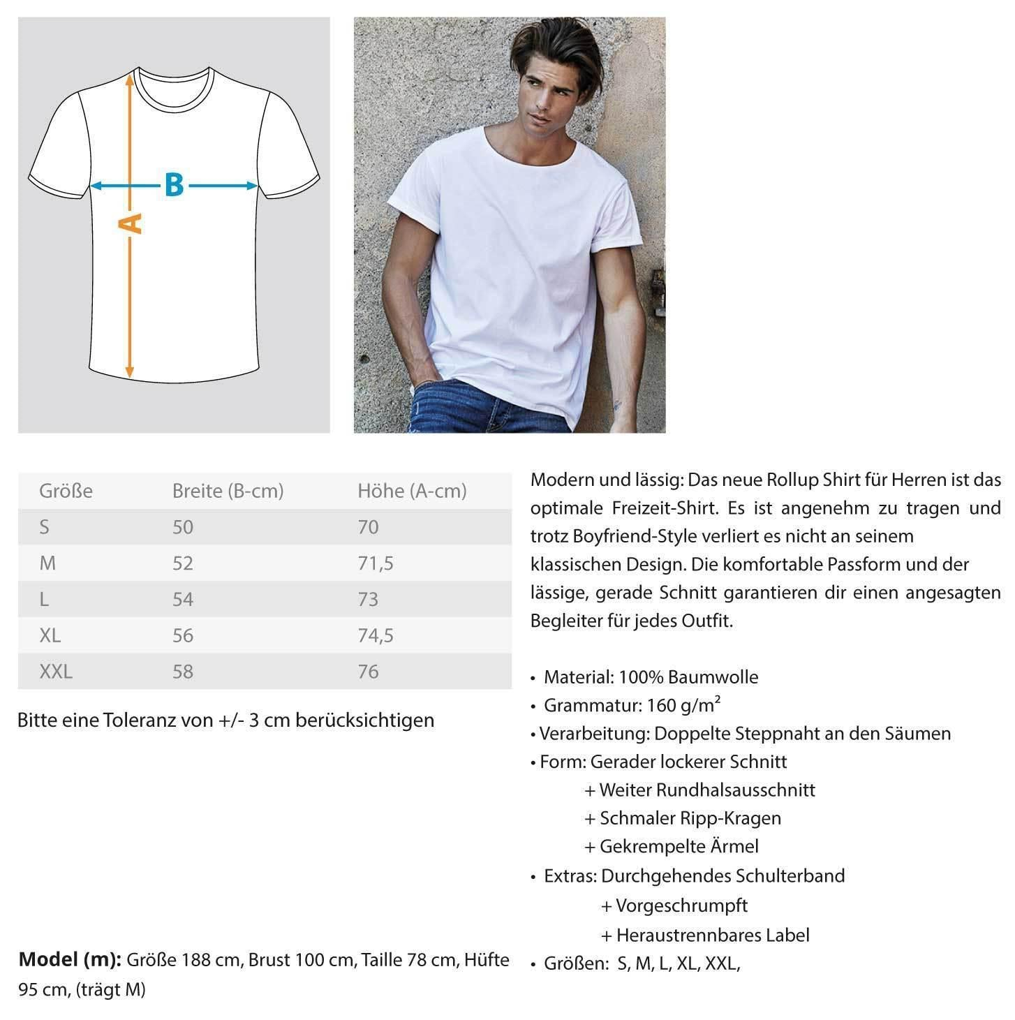 "Stylisches ""Raver"" Shirt Herren Basic T-Shirt - Rave On!® der Club & Techno Szene Shop für Coole Junge Mode Streetwear Style & Fashion Outfits + Sexy Festival 420 Stuff"