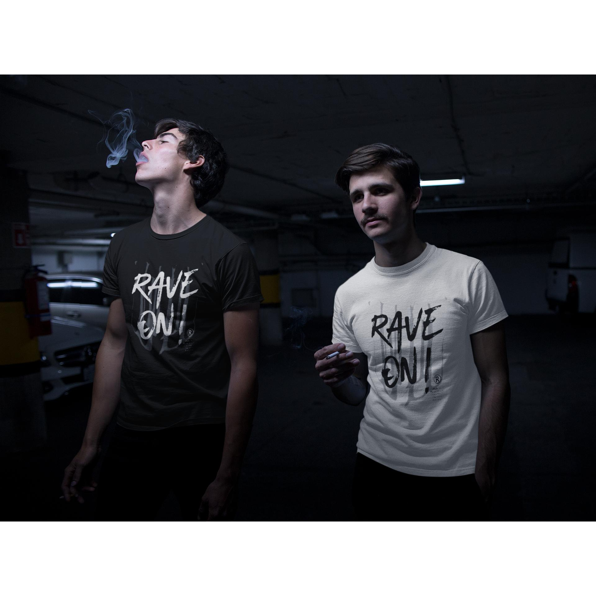 Rave On!® - Made On Planet Earth B2k20 - Herren Long Tee Men Long Tee - Rave On!® der Club & Techno Szene Shop für Coole Junge Mode Streetwear Style & Fashion Outfits + Sexy Festival 420 Stuff