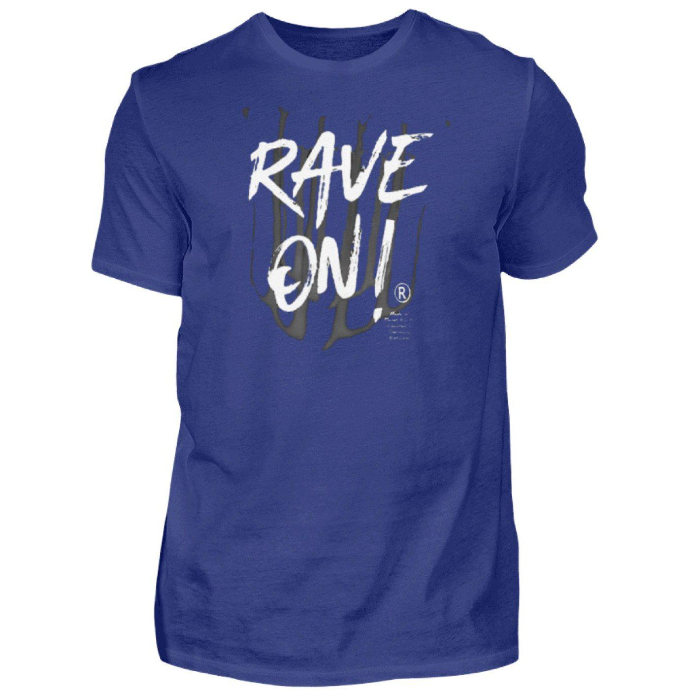 Rave On!® - Made On Planet Earth B2k20 - Herren Premiumshirt Herren Premium Shirt Dark Royal / S - Rave On!® der Club & Techno Szene Shop für Coole Junge Mode Streetwear Style & Fashion Outfits + Sexy Festival 420 Stuff