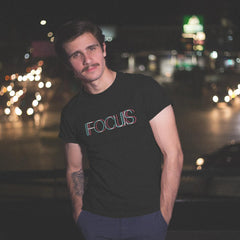 FOCUS trippy -Rave On!®  - Herren Shirt