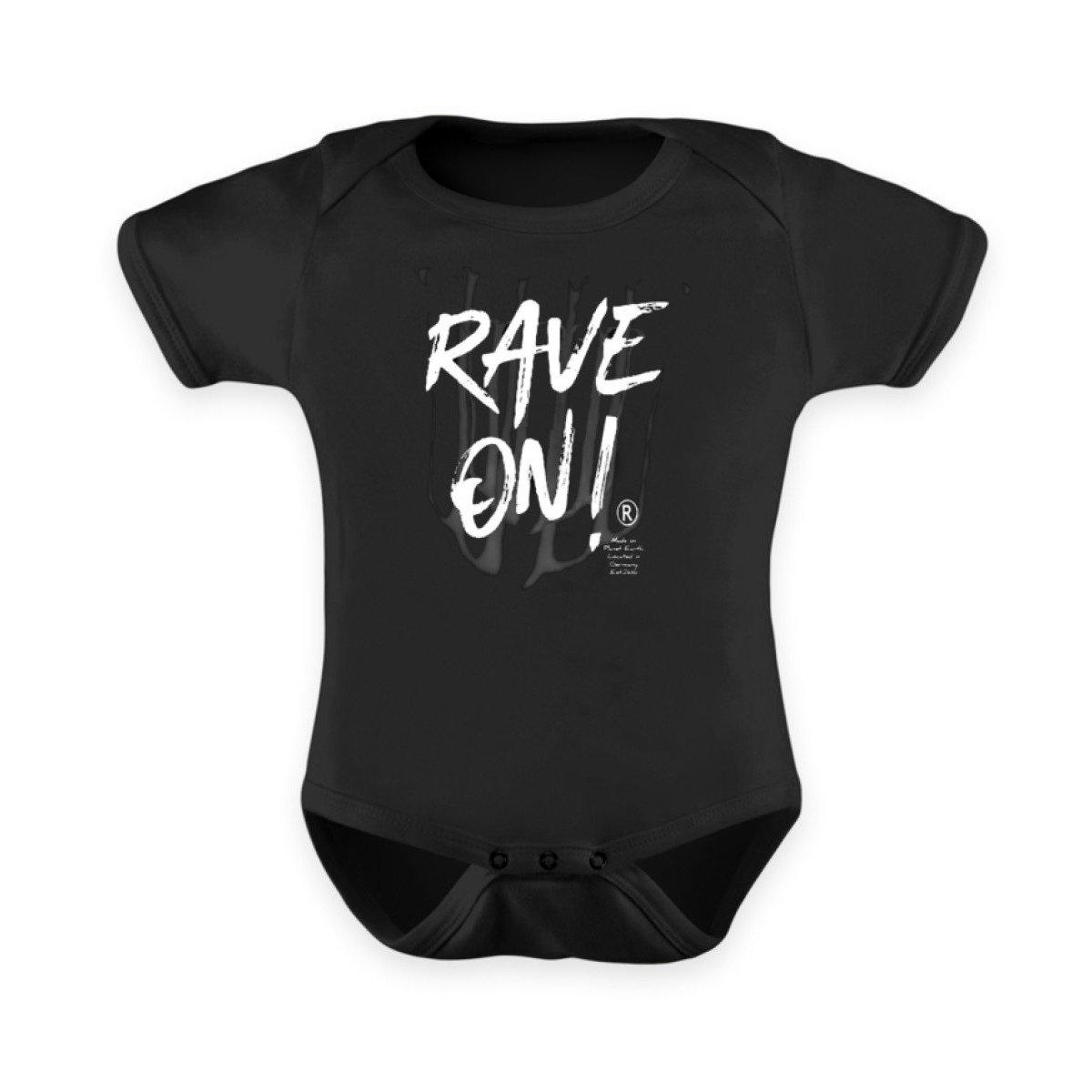 Rave On!® - B2k20 Baby Strampler - Baby Body Baby Strampler 12-18 Monate - Rave On!® der Club & Techno Szene Shop für Coole Junge Mode Streetwear Style & Fashion Outfits + Sexy Festival 420 Stuff