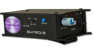 Beatrice B1 - Single Channel Network Audio Ultra Compact Beltpack Intercom