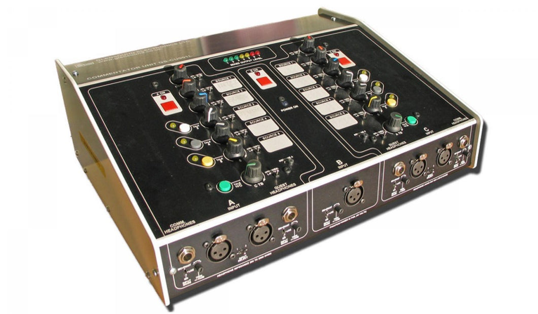 GS-CU001L/3 MKII - With Transformer Balanced Inputs & Outputs