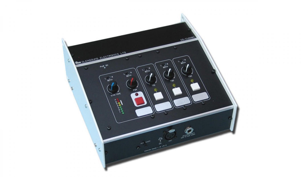 GS-CU008/C - Single Comms Box with 3 x Talkback 4 Wires