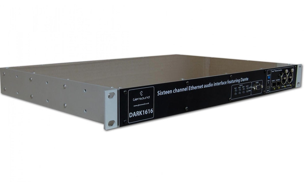 DARK1616 - 16 Analogue and 8 AES Inputs and Outputs