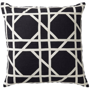 Black Milano Tile Cushion