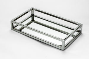 Vanity Rectangle Mirror Tray