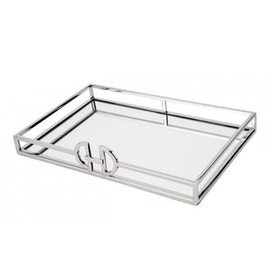 Rectangle D Mirror Tray