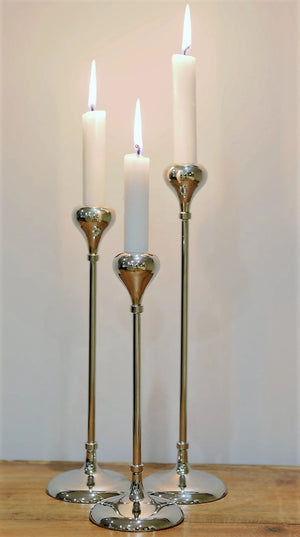 Tear Drop Candle Stand Set of 3
