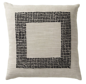 Beach Chic Black Cushion