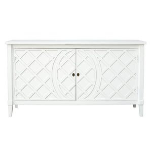 Rodin White Lattice Buffet