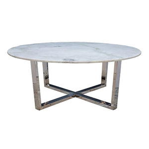 Polished Marble Coffee Table
