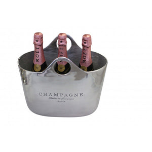 Oval Handbag Champagne Bucket