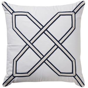 White Nantucket Cushion