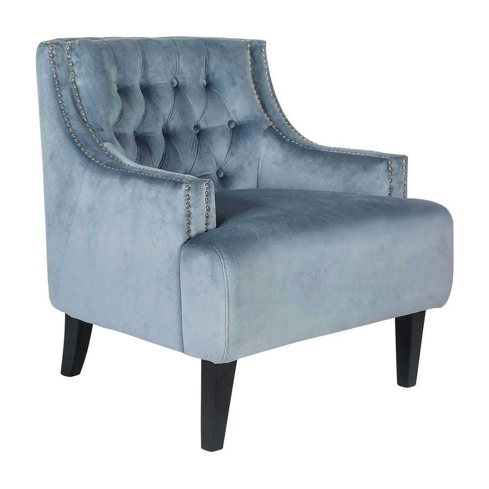 Tufted Occasional Chair - Dove Grey