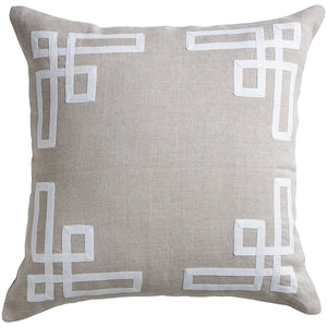 Sand Thea Linen Cushion