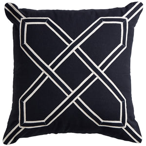 Black Nantucket Cushion