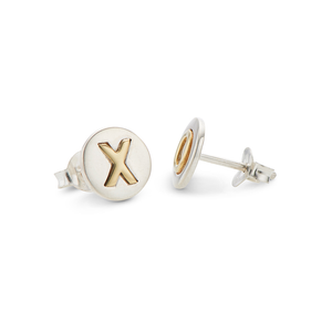 Kiss Hug Stud Earrings