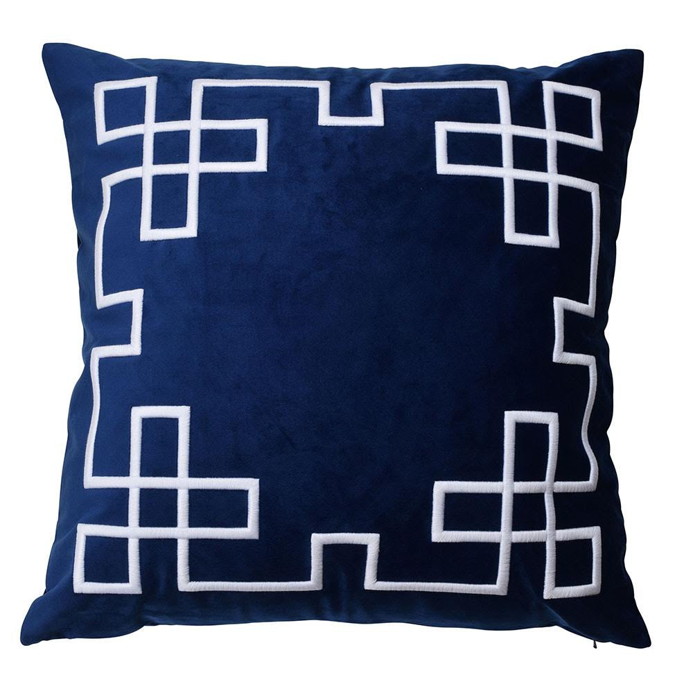 Palm Springs Navy Cushion