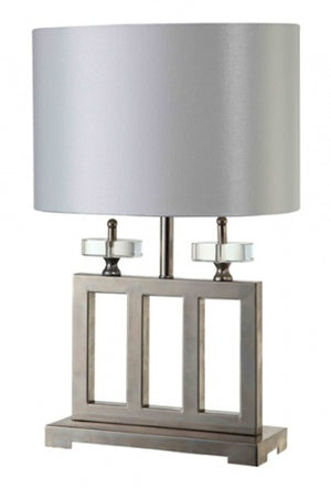Grace White Table Lamp