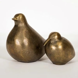 Brass Dove Set of 2