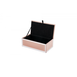 Blush Glass Jewellery Box