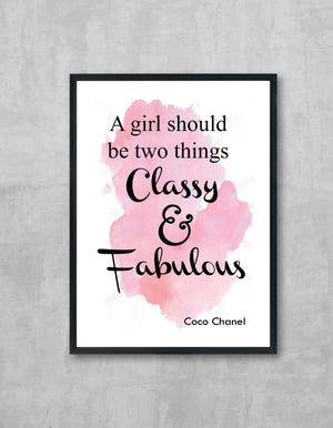 Classy Fabulous Set of 3 Wall Prints Med