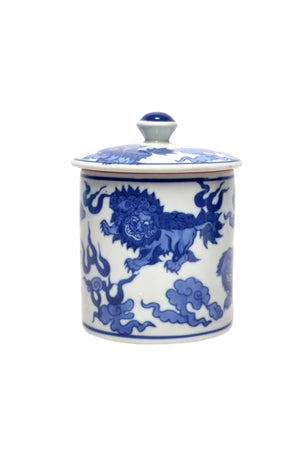 Dynasty Blue & White Canister