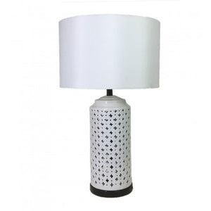 Minx White Table Lamp