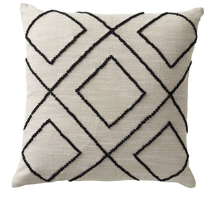 Beach Chic Diamond Cushion