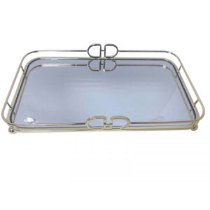 Gettes Gold Rectangle Tray