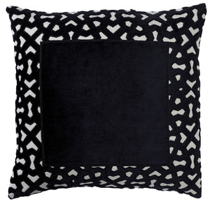 Manhattan Border Cushion