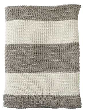 Sand Stripe Throw
