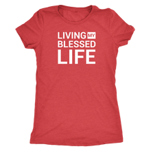 Load image into Gallery viewer, Blessed Life Tee