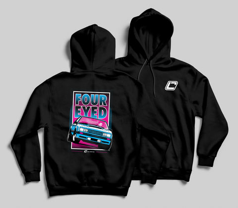 Four Eyed Fox Body Hoodie