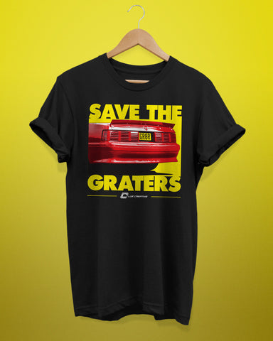 Save The Graters Fox Body Shirt