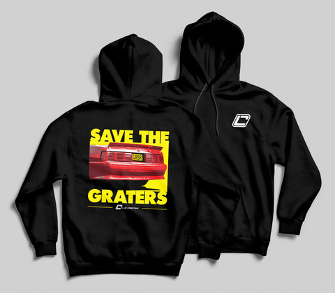 Save The Graters Fox Body Hoodie