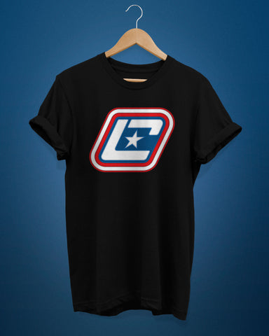 Red White & LUE Logo Shirt