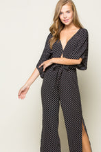 Load image into Gallery viewer, Polka Dot Jumpsuit