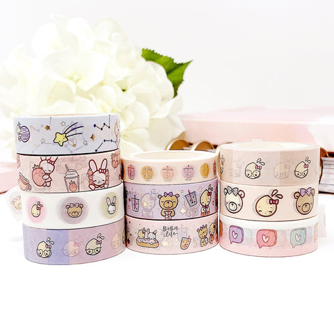 PBC Washi Bundle (Set of 10) | Washi Tape Set